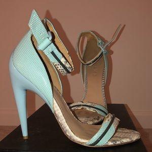High heeled sandals!